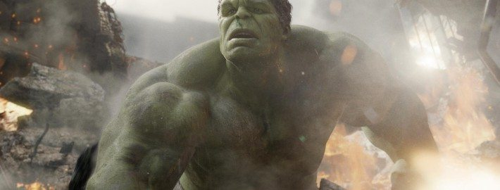 "Mark Ruffalo as the Hulk in ""The Avengers,"" courtesy of Marvel Films."