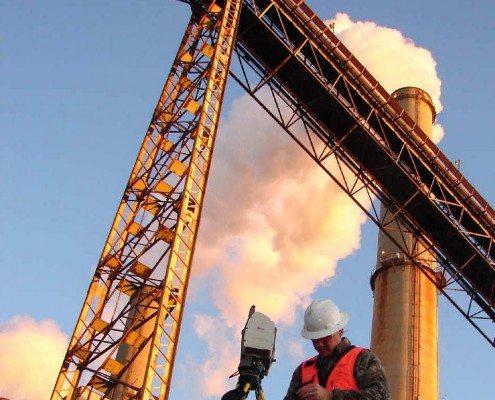 3D Laser Scanning Coal Plant