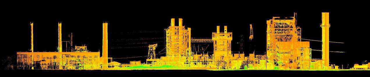 3D Laser Scanning of a Power Plant