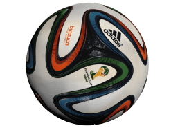 3D scan of Adidas World Cup 2014 Match Ball - Brazuca