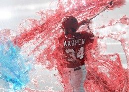 3D body scanning Gatorade Fierce Bryce Harper
