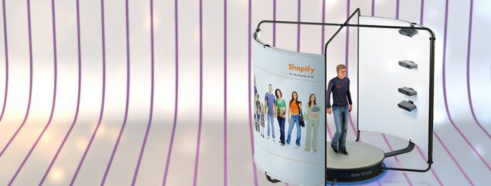 Shapify Booth Full Body 3D Scanner