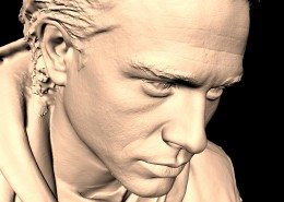 Charlie Hunnam Sons of Anarchy 3D Scan