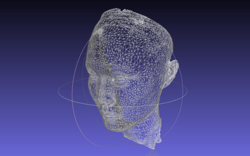 3D Face Scanning projection mapping