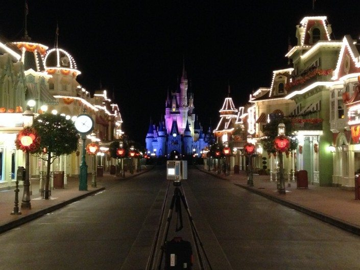 3D Laser Scan of Disney World Main Street