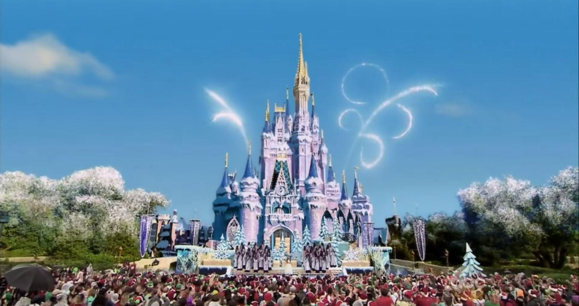 3D modeling Disney 'Frozen' Christmas Day Special Castle VFX 2