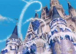Disney 'Frozen' Christmas Day Special Castle VFX