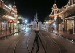 3D Laser Scan of Disney World Main Street