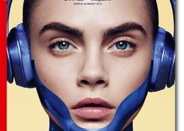 3D Scan of Cara Delevingne for Garage Magazine