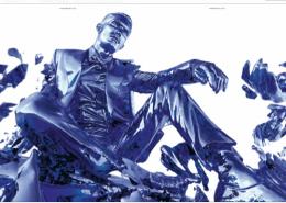Magazine Antidote - Tobias 3D scan