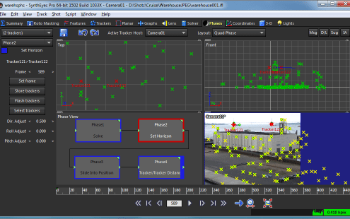 SynthEyes 3D Tracking Software