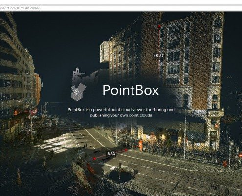 Pointbox web-based point cloud viewer - SCANable