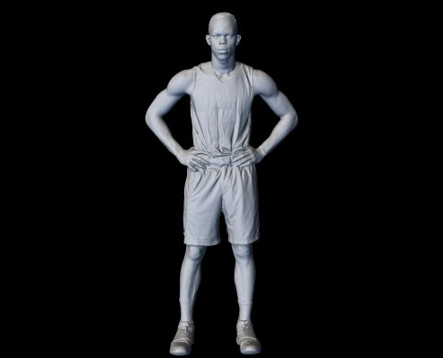 3D Scan of Dennis Schroder