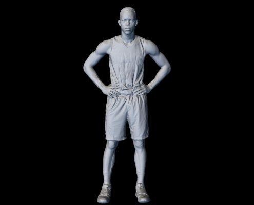 3D Scan of Dennis Schroder