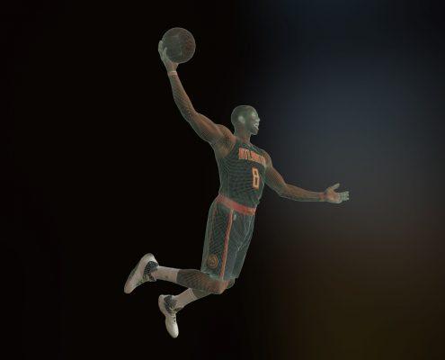 3D Scan of Dwight Howard