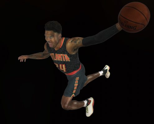 3D Scan of Kent Bazemore