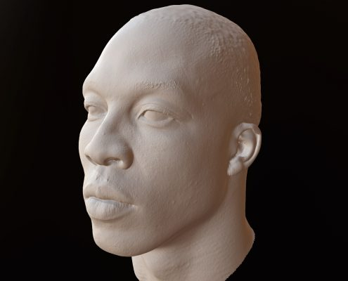 3D Scan of Dwight Howard