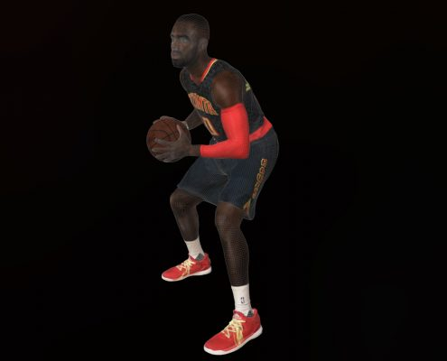 3D Scan of Tim Hardaway Jr