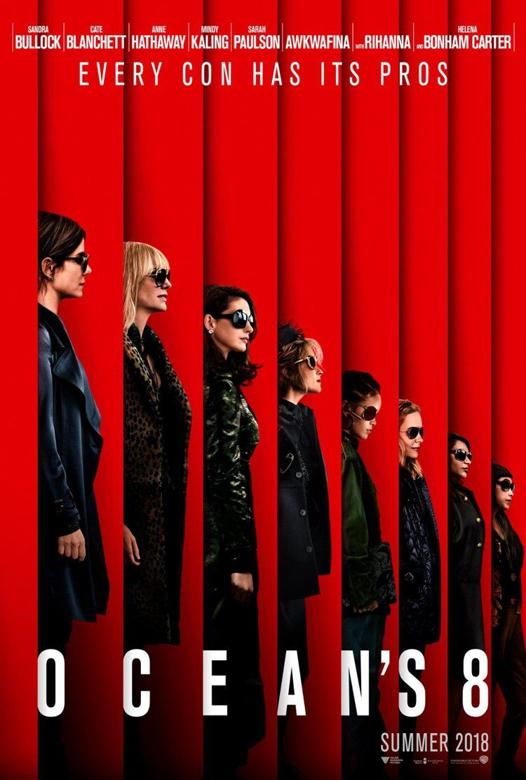 Ocean's 8 Movie Poster - 3D Scanning by SCANable
